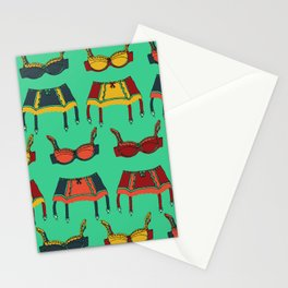Dancing Around The House Stationery Cards