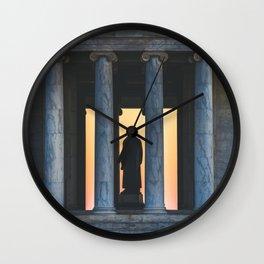 Between the Columns Wall Clock