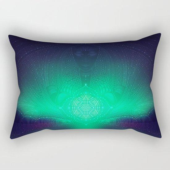 dreaming gate Rectangular Pillow
