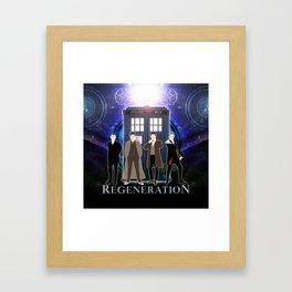 The Doctor Of Regeneration Framed Art Print