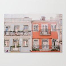 Travel to Lisbon Canvas Print