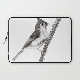Tufted Titmouse Laptop Sleeve