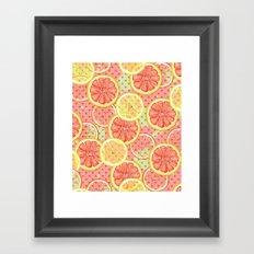 Fresh & Fruity Framed Art Print