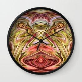 Red Spirit Wall Clock