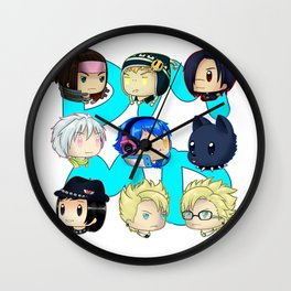 DMMD- chibis Wall Clock