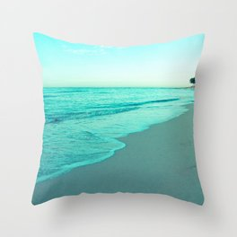 calm day 05 ver.blue Throw Pillow