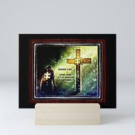 Scripture Pictures 05 Mini Art Print