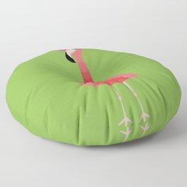 Snazzy Flamingo Floor Pillow