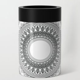 Medallion Mandala Can Cooler