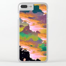 Sugar Storm Clear iPhone Case