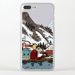 North Clear iPhone Case