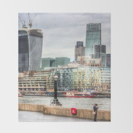 City of London Throw Blanket