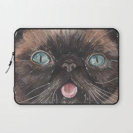 Der the Cat - artist Ellie Hoult Laptop Sleeve