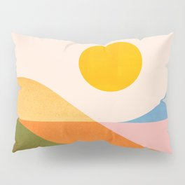 Abstraction_NEW_OCEAN_LAKE_Wonderful_Day_Minimalism_0699A Pillow Sham