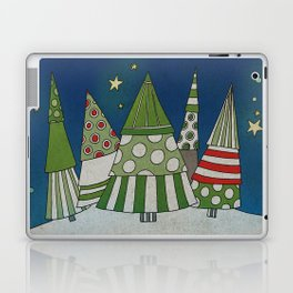 Night in the Winter Forest Laptop & iPad Skin