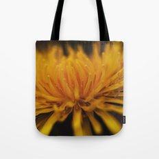 yellow, yellow dandelion Tote Bag