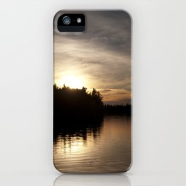 Northern Sunset 004 iPhone Case