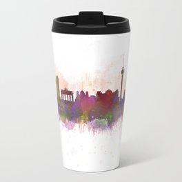 Berlin City Skyline HQ1 Travel Mug