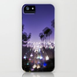 Chasing Light in Los Angeles iPhone Case