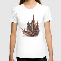 movie T-shirts featuring The Snail's Daydream by Eric Fan