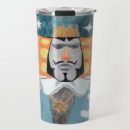 The King Needs More Things Travel Mug