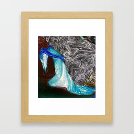 Woman of the Wind Framed Art Print