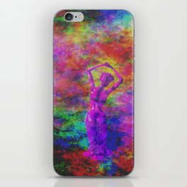 Maiden Worshipping Crystal Moon iPhone Skin