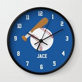 Jace - Baseball Clock Wall Clock
