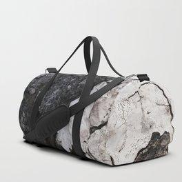 bark abstact no1 Duffle Bag
