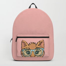 Orange Kitty Cat II Backpack