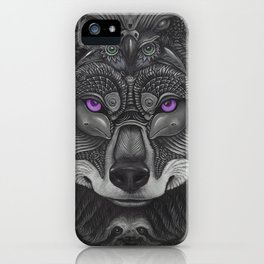 Lobo Prince iPhone Case