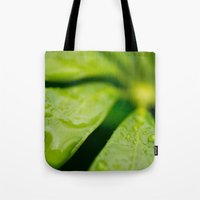 jamaica Tote Bags featuring Jamaica Greenery by Heartland Photography By SJW