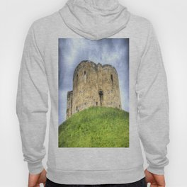 York Castle And Daffodils Hoody