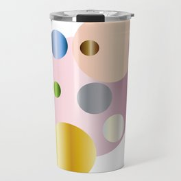 planetarium abstract geometrical design Travel Mug