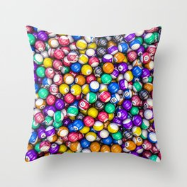 Poolhall Junkies Throw Pillow