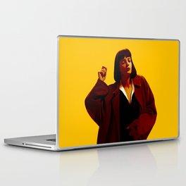 Mia Wallace - Yellow Laptop & iPad Skin