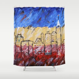 New York by Michael Shower Curtain