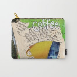 Books and Coffee Carry-All Pouch