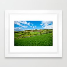 Molise landscape Framed Art Print