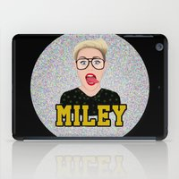 miley iPad Cases featuring Miley Cyrus by Jessica Guetta