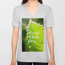 Mexicant Mint - Good Vibes Only Unisex V-Neck