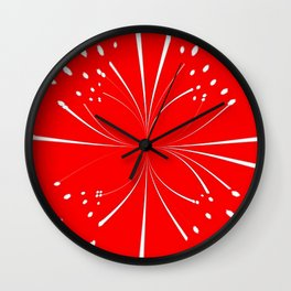 Simple Christmas Wall Clock