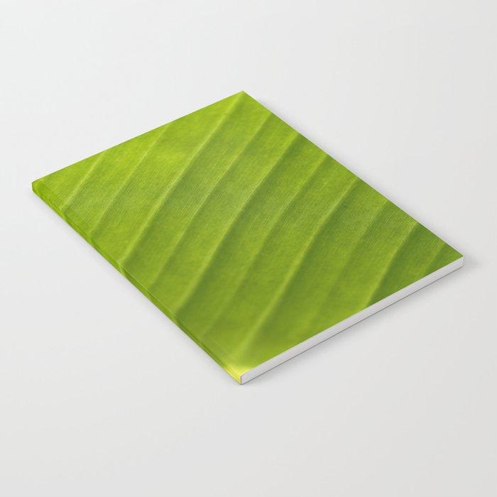 Banana Leaf III Notebook
