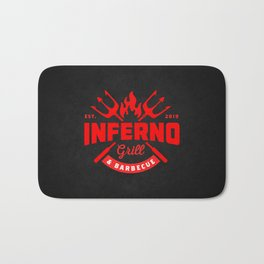 Inferno Grill and Kitchen Bath Mat