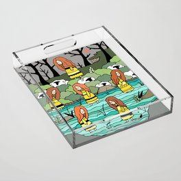 The Water Lovers Acrylic Tray