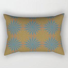 3D Spirals Rectangular Pillow