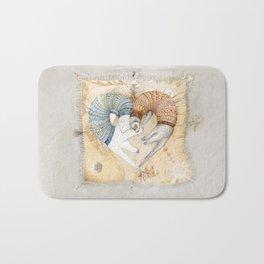 Ferret love Bath Mat