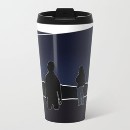 Silhouettes in the Snow Travel Mug