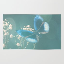 Fly butterfly fly Rug