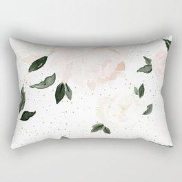 vintage blush floral Rectangular Pillow